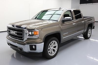 2015 GMC Sierra 1500 SLT Crew Cab Pickup 4-Door 2015 GMC SIERRA 1500 SLT CREW HTD LEATHER NAV 20'S 31K #379439 Texas Direct Auto