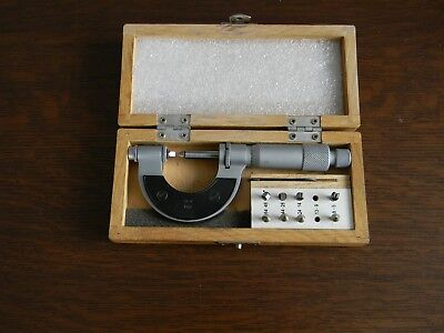 0-1in.Thread Pitch Micrometer VIS