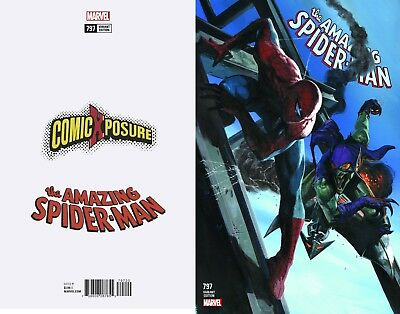 Amazing Spiderman 797 Gabrielle Dell Otto Comicxposure Variant  Nm