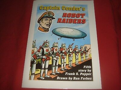 CAPTAIN CONDOR'S ROBOT RAIDERS Frank S. Pepper Ron Forbes  Lion Comics