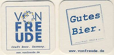 2 Sous Bock identiques bierdeckel coaster VONFREUDE Craft beer germany