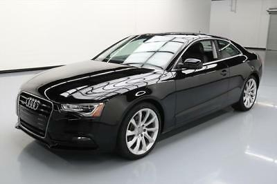 2014 Audi A5 Base Coupe 2-Door 2014 AUDI A5 2.0T PREM PLUS AWD SUNROOF NAV REARCAM 28K #060403 Texas Direct