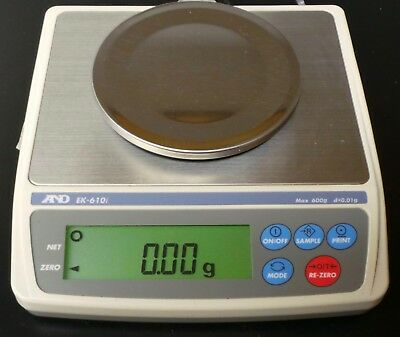 A&D EK-610i 600 x 0.1g NTEP Legal For Trade Jewelry Precision Digital Scale