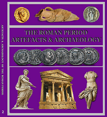 Metal Detecting Artefacts, Roman Period PDF Books (Set 2) 2 Discs