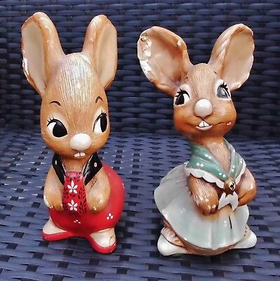 Pendelfin Father And Mother Figurines