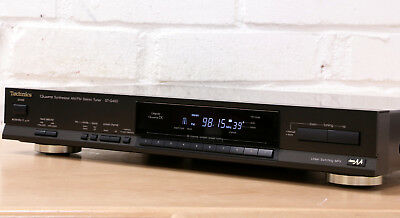TECHNICS ST-G460 Hi-Fi stereo FM AM Analogue tuner radio Made in Japan Class AA