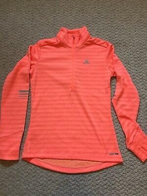 Womens Salomon Running Top - Small