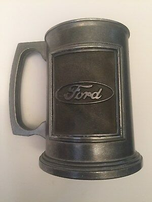 Ford Dura CastPewter Beer Mug Hand Crafted USA