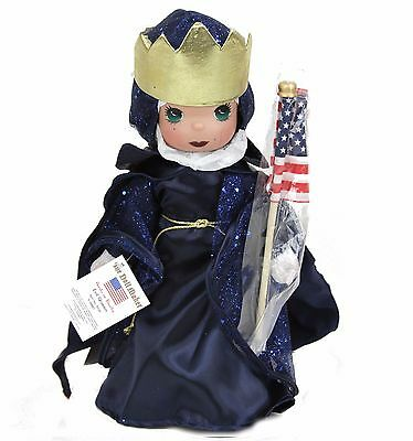 "Disney Villains Precious Moments Evil Queen Snow White 4th Of July 12"" Doll"