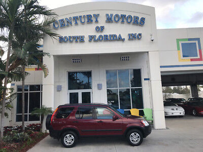 2003 Honda CR-V EX Sport Utility 4-Door unroof CD Changer No Accidents Alloy Wheels AWD