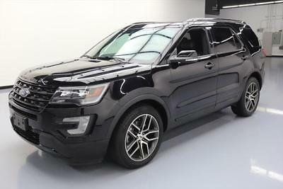 2016 Ford Explorer Sport Sport Utility 4-Door 2016 FORD EXPLORER SPORT AWD LEATHER NAV PANO ROOF 37K #C06509 Texas Direct Auto