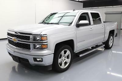 2014 Chevrolet Silverado 1500 LT Crew Cab Pickup 4-Door 2014 CHEVY SILVERADO LT CREW 6PASS REAR CAM 20'S 63K MI #173716 Texas Direct