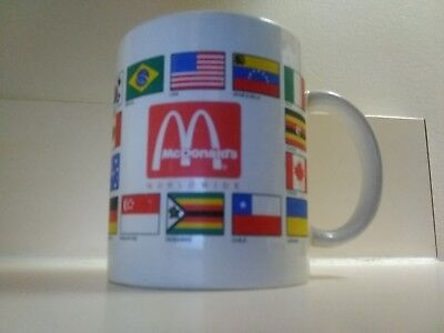 McDonald's coffee mugs olymics world  wide flags