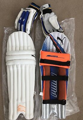 Boys PUMA Cricket Pads With Gloves