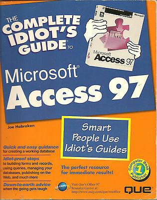 Microsoft Access 97 - The Complete Idiot's Guide