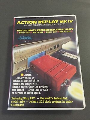 C64 Action Reply Cartridge MkIV