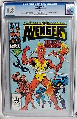 Avengers #258 (1985 Marvel) CGC 9.8 WHITE PAGES FIRELORD & SPIDER MAN Appearance