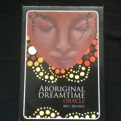 Aboriginal Dreamtime Oracle. Mel Brown. New. Card plus booklet. Similar to Tarot