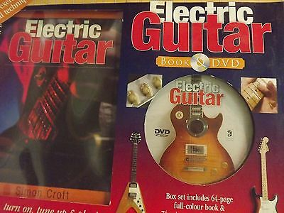 Electric Guitar Tution Book And D.v.d. Package