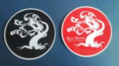 Tree House Brewing Sticker Decal Craft Beer, black & white Rare, 2 pack