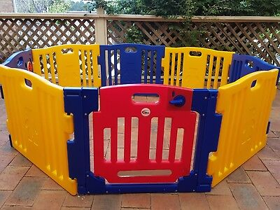 Playpen 8 sided interactive perfect for  toddlers like new normally $120 to $150