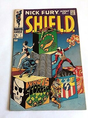 Nick Fury Agent of SHIELD (1968 1st Series) #1 High Grade!