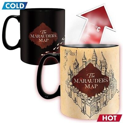 Harry Potter - Mug thermo-réactif Marauder's Map - ABYstyle