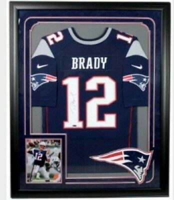 TOM BRADY New England Patriots Signed Official Guernsey