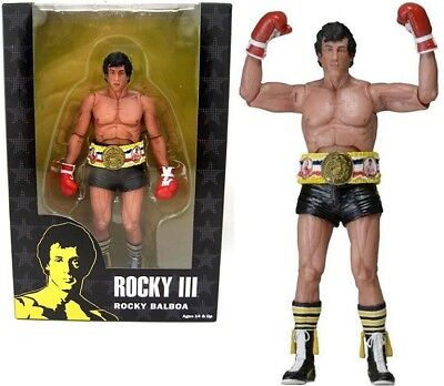 Rocky 40th Anniversary - Rocky III - Rocky black trunks - Neca