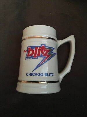 1983 Ceramic Chicago Blitz Beer Stein