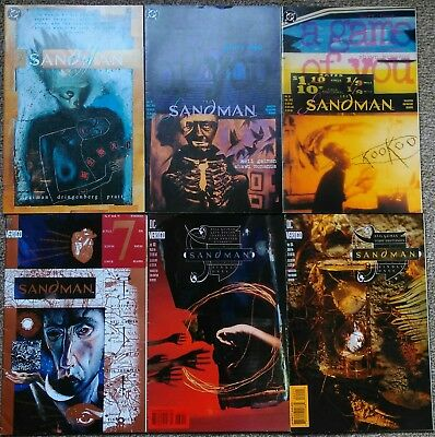 Collection of 12 Sandman comics. Neil Gaiman. DC Vertigo Great condition.
