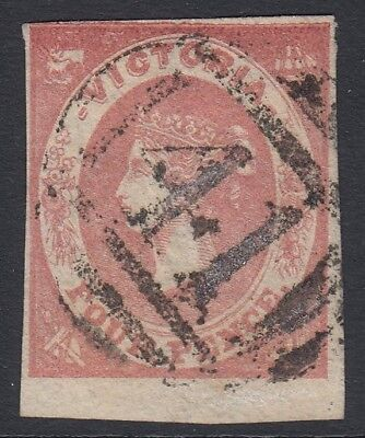 "Victoria  rated RRRR   numeral ""41"" cancel of Euroa  on 4d Emblem"