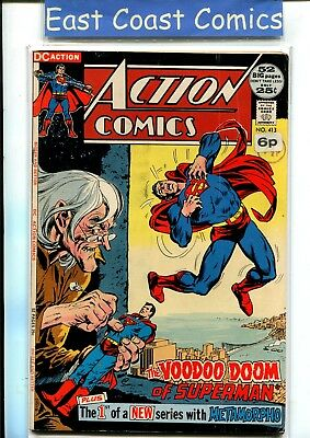 ACTION COMICS #413 - 52 pgs - FINE PLUS - DC