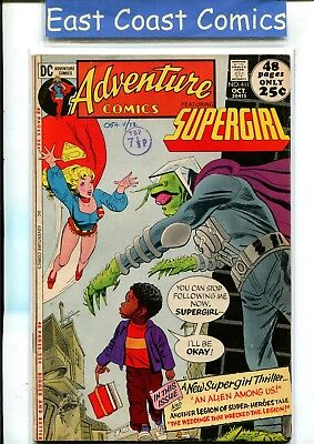 Adventure Comics #411 - Supergirl - Fine Plus - Dc