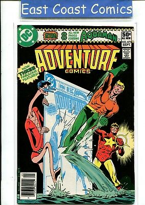 Adventure Comics #475 - Very Fine - Dc