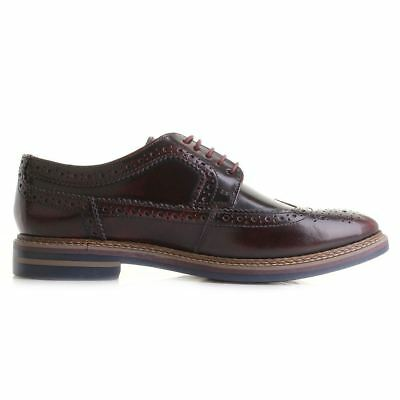 Base London Turner Hi Shine Bordeaux Mens Shoes