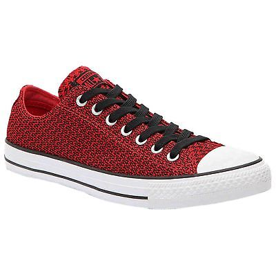 Converse Chuck Taylor All Star Ox Casino Black Men Knit Low-top Trainers 157480F