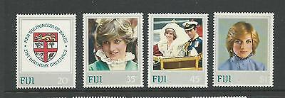 1982 Royal Birthday PRINCESS DIANA set of 4 complete MUH/MNH as issued