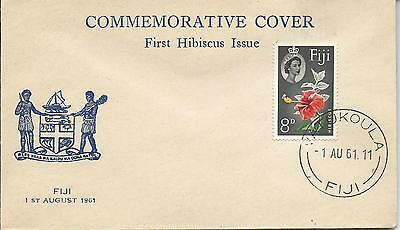 FDC 1st Hibiscus Issue 1st August 1961 Special Commemorative Cover