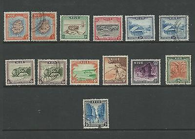 1950 set of 10 Mixed Mint Hinged & Used Value here 13 stamps in total