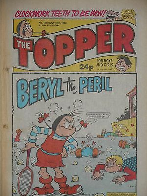 The Topper Comic 16th July 1988 (Issue 1850)
