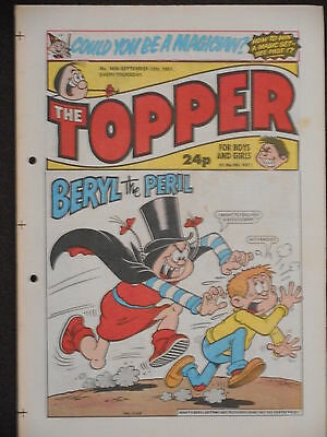 The Topper Comic 12th September 1987 (Issue 1806)
