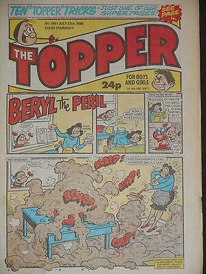 The Topper Comic 23rd July 1988 (Issue 1851)