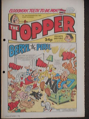 The Topper Comic 19th December 1987 (Issue 1820)
