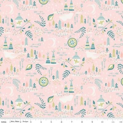 By the Sea Nautical Arrows White Riley Blake Fabric FQ More 100/% Cotton Craft