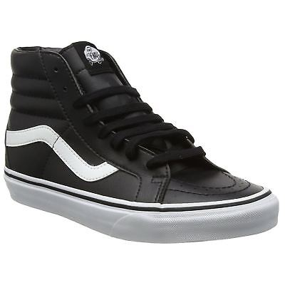 763dac1cdc Vans SK8 Hi Reissue Black True White Mens Hi-top Lace-up Skater Trainers