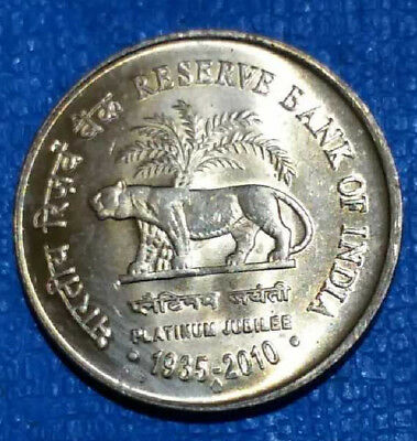 1935 -2010 -  R B I  Commemorative  India Coin  -#1146-  Free Shipping