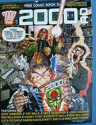 2000 A.D. Signed Comic Book Day Edition 2015