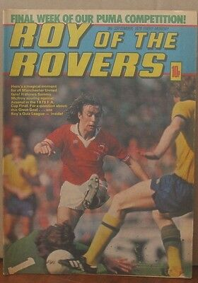 ROY OF THE ROVERS 8th Sept 1979 Tommy's Troubles The Hard Man Mike's Mini Men