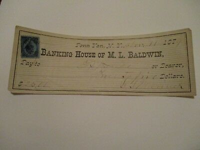 Banking House of M.L. Baldwin